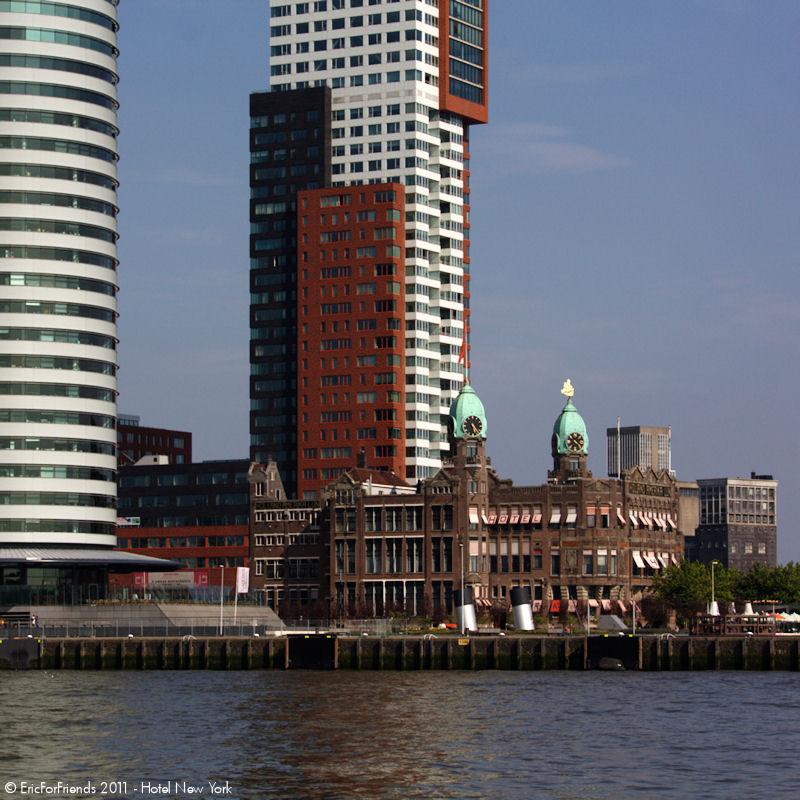 Hotel New York Rotterdam, Holland-Amerikalijn Gebouw